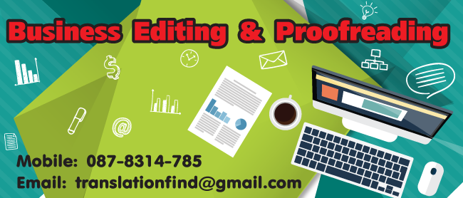 Business Proofreading and Editing Service